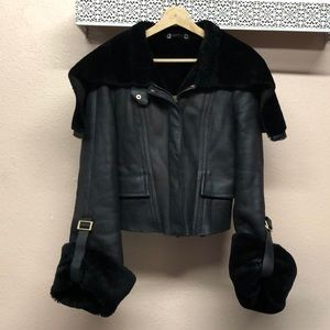 Women\u2019s Gucci Fur Zip Up Coat